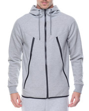 Basic Essentials - Tech Fleece Full - Zip Hoodie