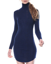 Dresses - Depths Light Weight Turtle Neck Dress