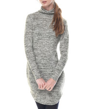 Casual - Kim Long Sleeve Turtle Neck Dress