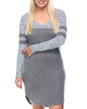 Women - Touch Down V-Neck Jersey Dress (plus)