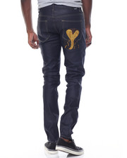 Men - Cobra Raw Denim Jeans