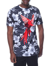 Shirts - Parrot Floral S/S Tee