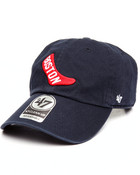 Boston Red Sox Cooperstown Clean Up 47 Strapback Cap