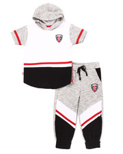 Sets - 2 PC MELANGE JOGGER SET (2T-4T)