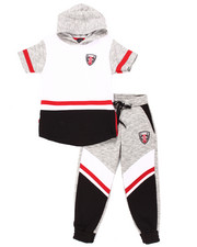 Boys - 2 PC MELANGE JOGGER SET (8-20)