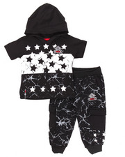 Boys - 2 PC STARS JOGGER SET (INFANT)