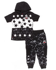 Sets - 2 PC STARS JOGGER SET (2T-4T)