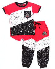 Boys - 2 PC MARBLE JOGGER SET (4-7)