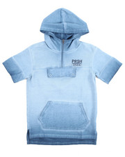Boys - FADED S/S HOODY (2T-4T)