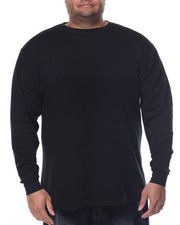 Shirts - Fitted Lightweight Crew Neck L/S Thermal (B&T)