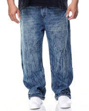 Men - Tacked Denim Jeans (B&T)