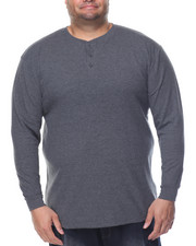 Henleys - Two - Button Thermal Henley (B&T)
