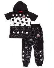 Boys - 2 PC STARS JOGGER SET (4-7)