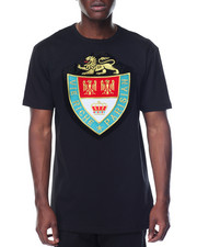 Shirts - Embellished Crest S/S Tee