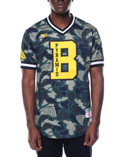 Men - Pyramid Camo Baseball Jersey
