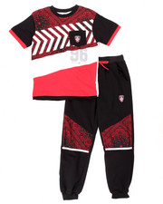 Boys - 2 PC BANDANA JOGGER SET (8-20)