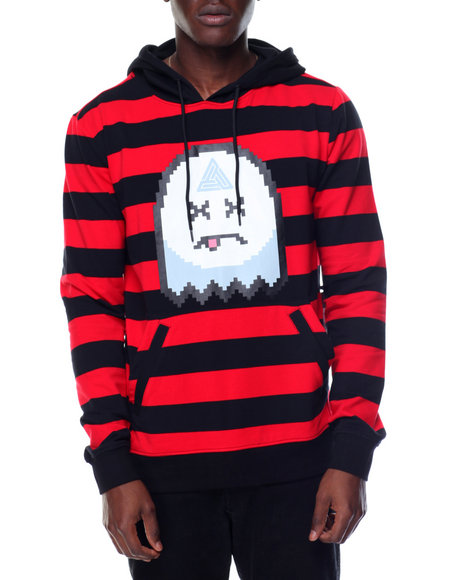 Buy ghost striped pullover hoodie men 39 s hoodies from black for Black pyramid t shirts for sale