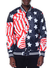 Men - STARS & STRIPES NYLON JACKET
