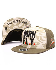 Men - Golden Eye Snapback Cap