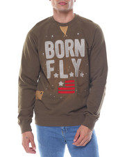 Sweatshirts & Sweaters - Black Belly Crew Sweatshirt