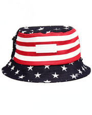 Men - STARS & STRIPES BUCKET HAT
