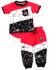 Infant & Newborn - 2 PC MARBLE JOGGER SET (INFANT)