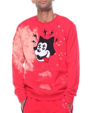 Men - Bleached Toon Crewneck Sweatshirt