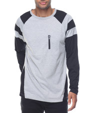 Rocawear - Contast Color Sideseam Crewneck Shirt