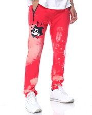 Jeans & Pants - Bleached Toon Fleece Joggers