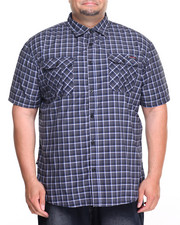 Black Friday Shop - Men - Enyce Plaid S/S Button-Down (B&T)