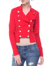 Women - Military Ponte Light Jacket