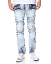 Buyers Picks - Painted Moto - Style Denim Jeans