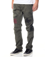 Jeans & Pants - Fly Bird Twill Pants
