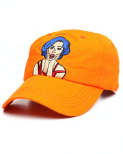 Hats - Blue Hair Girl Dad Hat