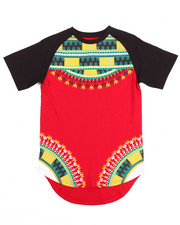 Boys - DASHIKI TEE W/ SCALLOP HEM (8-20)