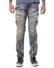 Buyers Picks - Vintage Rinse Cargo Moto Jean