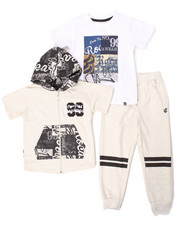 Sets - 3 PC SET - HOODY, TEE & JOGGERS (4-7)
