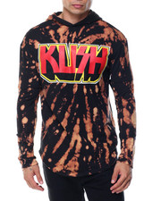 Men - Kush Bleached Pullover Hoodie