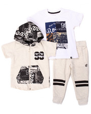 Sets - 3 PC SET - HOODY, TEE & JOGGERS (2T-4T)