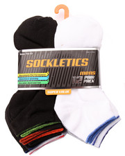 DRJ SOCK SHOP - Performance 12Pk No Show Socks