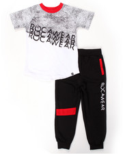 Sets - 2 PC SET - TEE & JOGGERS (4-7)