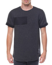 Men - Cut & Sew Scallop Tee