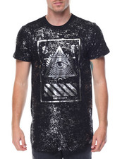 Men - Foil Print Eye of Providence Tee