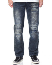 Men - Blue Ice Ripped Jean