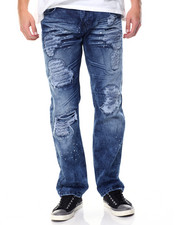 Men - Cloud Wash Distressed