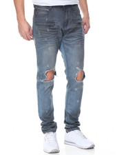 Men - Tropper Ripped Knee Vintage Jean