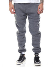 Jeans & Pants - Varsity Sweatpants w Stripe Band