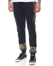 Pants - Tribal Gold Foil Jogger