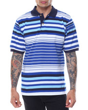 Men - Variegated Stripe S/S Polo