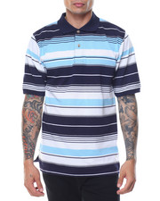 Shirts - Multi - Stripe S/S Polo